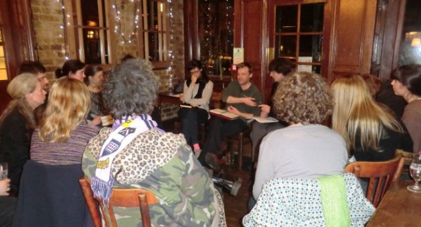 Campaigners at a previous meeting. Image courtesy of Lambeth Renters