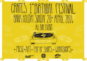 CRATES 1st BIRTHDAY FRONT