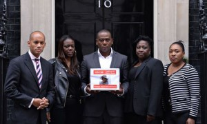 Cherry Groce legal aid campaign goes to No 10