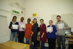 Graduation from the New Enterprise Course