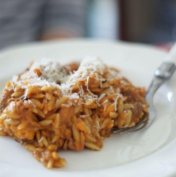 Orzo stew