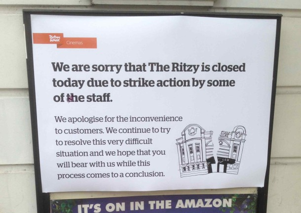 Ritzy Strike poster