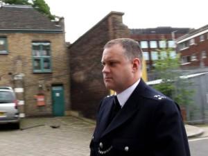 PC Andrew Birks. Picture by Ken Fero / Migrant Media