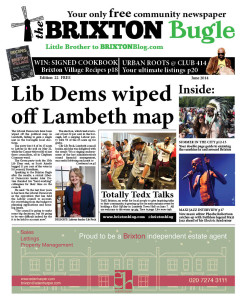 Brixton Bugle June 2014 front page