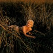 USA. New York. Long Island. Mount Sinai. US actress Marilyn MONROE. 1955.