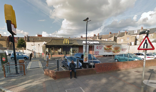 McDonald's in Streatham Place will not be open 24-hours. As seen by Google Streetview