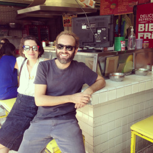 Mark Selby and Tommi Miers, founders of Wahaca, which opens in Brixton this month