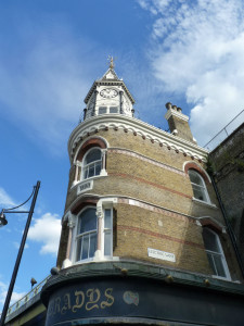 The iconic clocktower of Brady's Bar/Railway Hotel will now loom over Wahaca