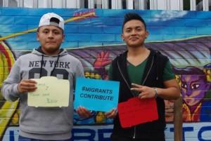Brixton's migrant community support the campaign.