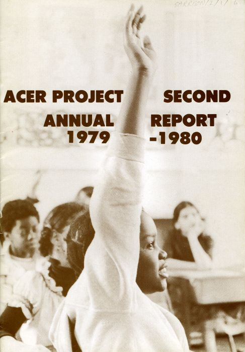ACER annual report, 1979 – 1980. Reproduced with kind permission of Marie Garrison, courtesy of the Black Cultural Archives.