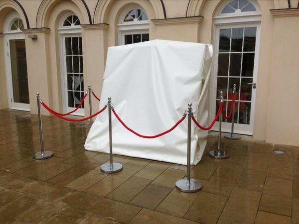 The stones will be unveiled outside the Black Cultural Archives at 11.11am this morning. Pic @Oldblackhack