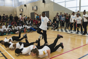 Flow crew from Evelyn Grace Academy. Photo by  Foteini Christofilopoulou