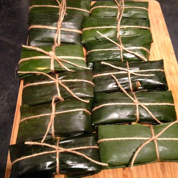 wrapped pastelles