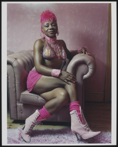 Pinky, 2001. Photograph by Jennie Baptiste, part of Staying Power exhibition at BCA