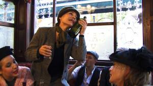 Siobhan Fahey as Nina Hamnett from A Drunken Sailor