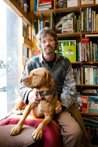 Patrick Kelly & Rosa - of Bookmongers in Brixton
