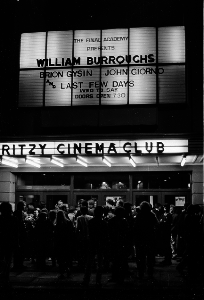 A William Burroughs showing in 1982