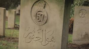 Gravestones in Brookwood. Courtesy of Said Adrus