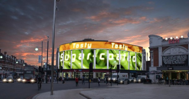 Proposed design for LED advertising boards on the Prince of Wales