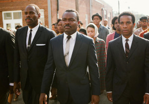 David Oleyowo as Martin Luther King in Selma. Picture from indiewire.com