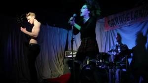 The band 'Camberwell Beauty' live gig scene