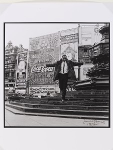 James Barnor, Mike Eghan Piccadilly Circus 1967