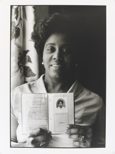 Normski 1966 Cynthia M. Prescod Mum at home in Primrose Hill London 1986