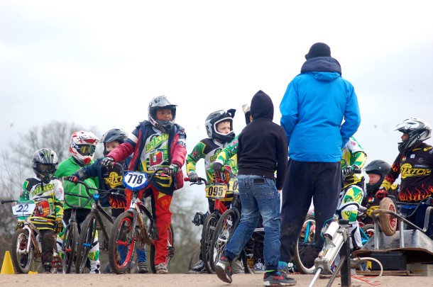 Young Brixton BMX Club riders at Brockwell Park (Sandra Brobbey for the Brixton Blog)