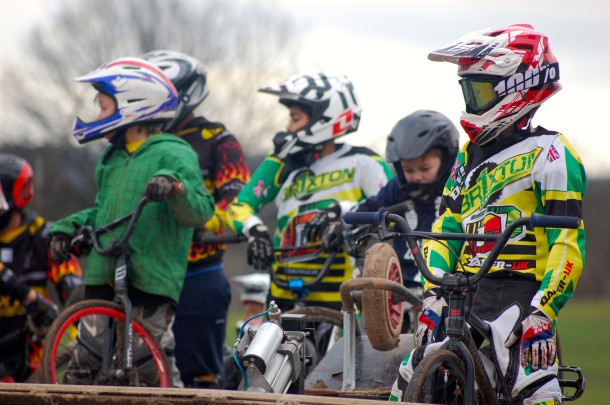 Young members of Brixton BMX Club (Sandra Brobbey for Brixton Blog)