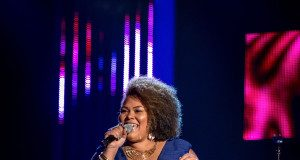 Lara Lee from Brixton performs on BBC One The Voice