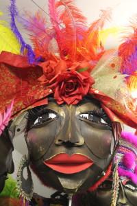 Carnival art at Sunshine Arts, Loughborough Junction.