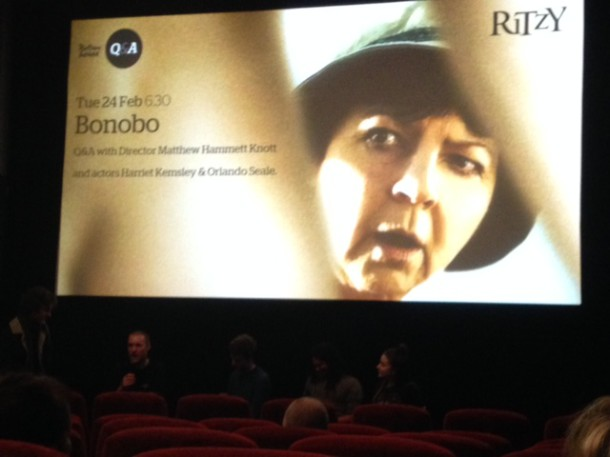 Bonobo film screening at Rityz