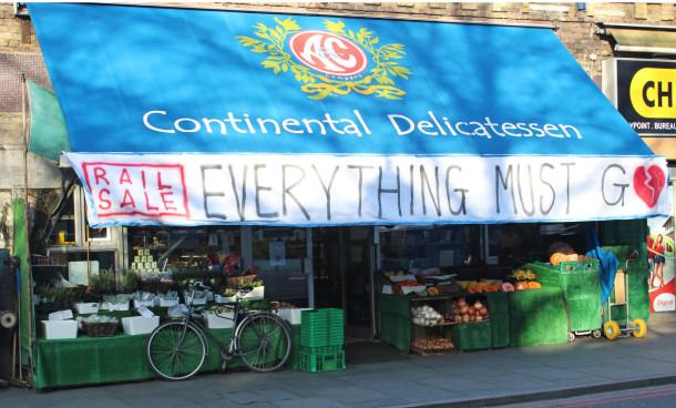 A & C Deli arches banner