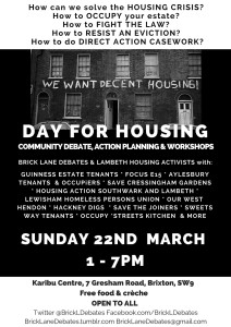 Day for Housing poster