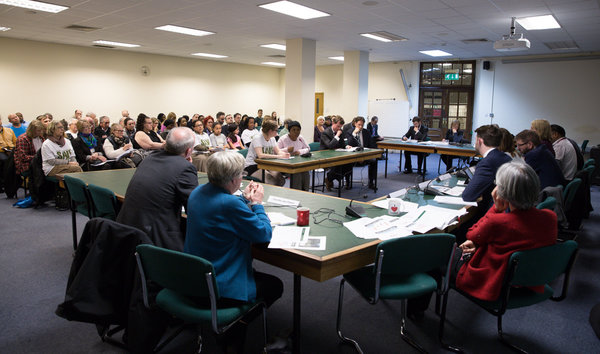 Save Cressingham Residents at Lamberth Town Hall Cabinet Meeting