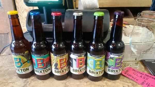 Brixton Beer Pic