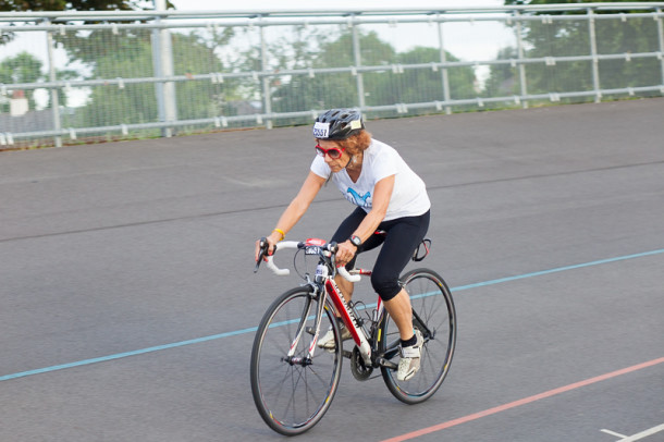 Eddie Brocklesby in training ahead of Ironman Lanzarote (Picture: Susanne Hakuba)