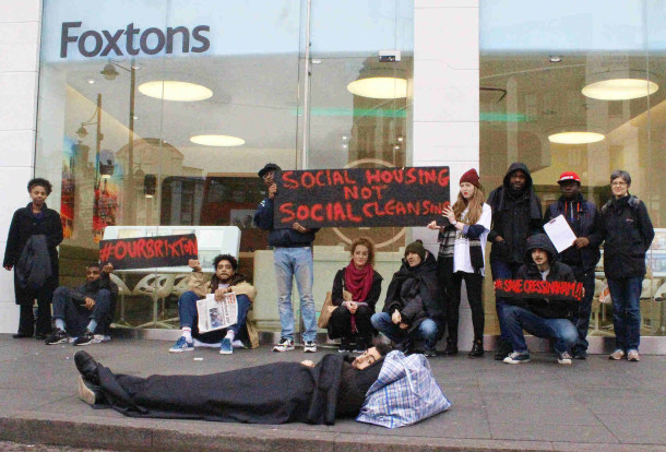 foxtons protest