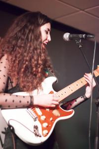 Bernado onstage