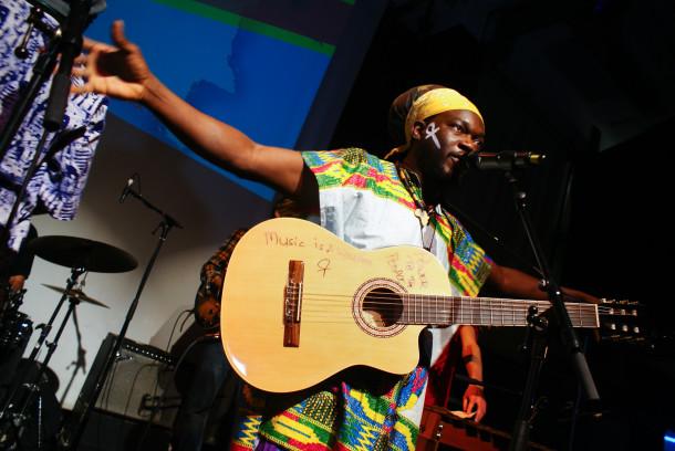 Mulele Matondo Afrika headlining fundraising gig