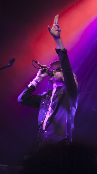 Larry Love of Alabama 3.