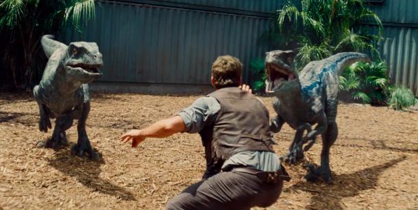 Chris Pratt in Jurassic World. Courtesy of teaser-trailers.com
