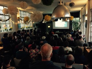 Lido cafe screening. Photo by HH Film Festival volunteers