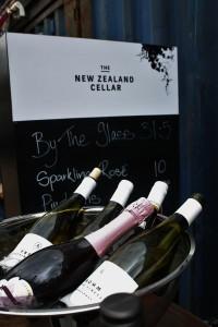 NZ Wine bottles