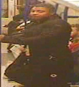 Police have released this image of a man they are looking for in connection with the incident
