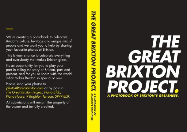 Great Brixton Project flyer