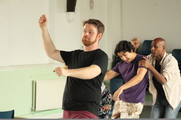 Rehearsal shot from The Wind in the Willows