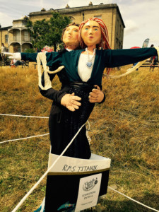 Scarecrows at Lambeth Country Show 2015