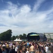 The main stage played host to 10,000 people