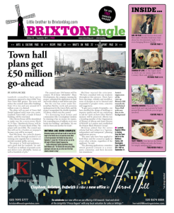 Brixton Bugle September 2015